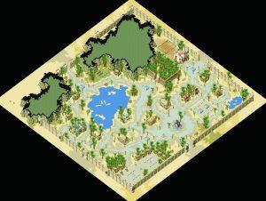 伊甸园全貌图