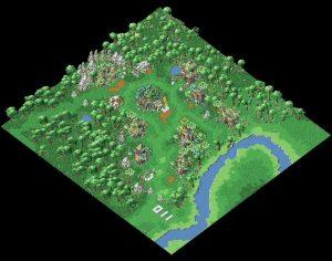 加加村全貌图